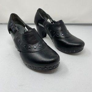 Dansko Ryder Leather Studded Heels